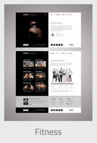 Website Development - fitness - Website Development
