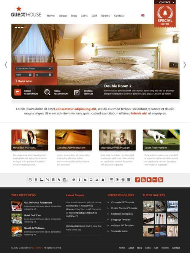 guesthouse alternative 1666882094 for hotel sports centre - HOTEL & SPORT CENTER DESIGN