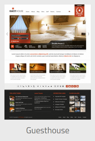 Website Development - guesthouse - Website Development