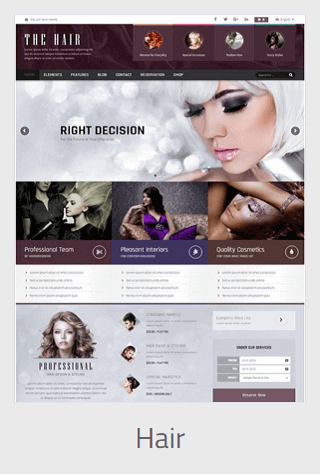 Website Development - hair - Website Development
