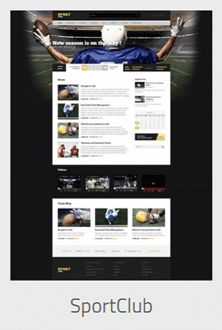 Website Development - sportsclub - Website Development