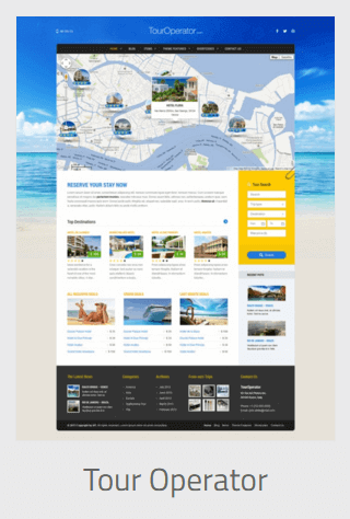 Website Development - tour operator - Website Development