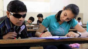 blindstudent 300x167 - Require 45 writers for visually challenged students' exams