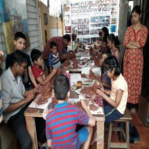 Ecofriemdly Ganpati Making Class 300x300 - Drawing, Art, Painting Classes / Institute in Aundh – Grafiti Expressions Gallery