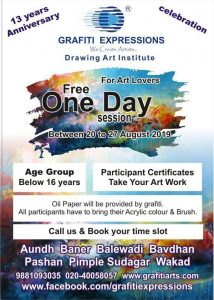 Free One Day Drawing session for kids at kothrud 214x300 - Free One Day Drawing session for kids at Bavdhan, Pashan