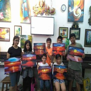 Grafiti Expression Drawing Art classes for all age group 2 300x300 - Drawing, Art, Painting Classes / Institute in Aundh – Grafiti Expressions Gallery