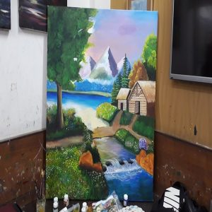 Scenery Painting Grafiti Expresssions 300x300 - Drawing, Art, Painting Classes / Institute in Aundh – Grafiti Expressions Gallery