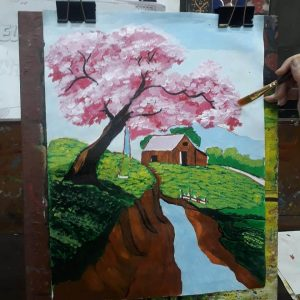 Scenery Painting Grafiti Expresssions1 300x300 - Drawing, Art, Painting Classes / Institute in Bavdhan – Grafiti Expressions