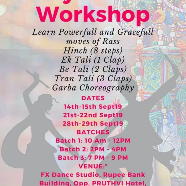 2 Day Garaba Workshop in Kothrud
