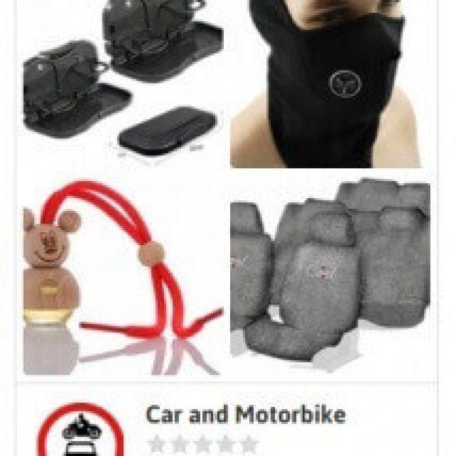Car and Motorbike